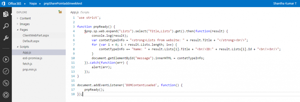 Add-In Code