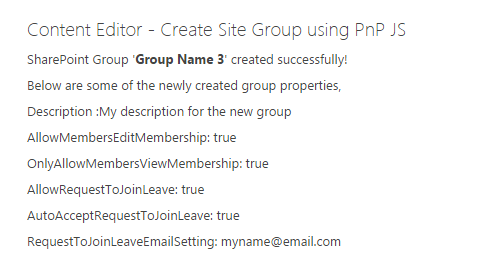 Create Site Group in SharePoint