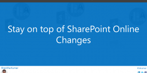 SharePointOnlineChanges