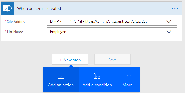 Add new folder in SharePoint List using Microsoft Flow