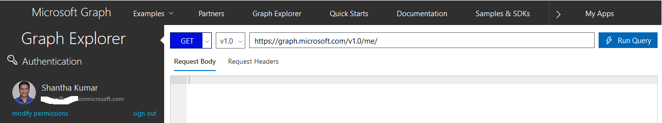 Create SharePoint List in Office 365 using Microsoft Graph Explorer